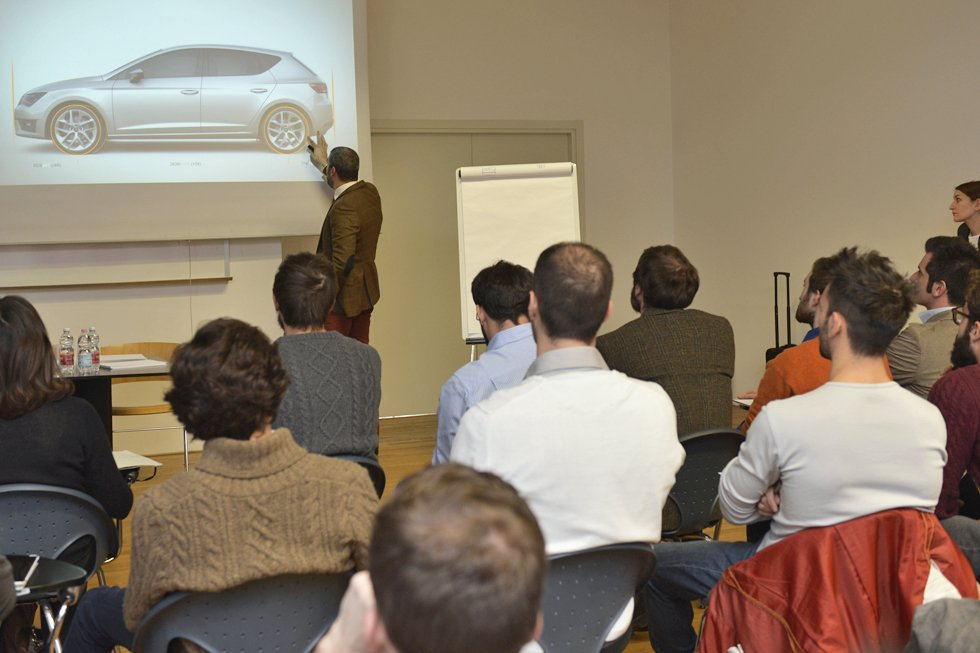 The challenge restarts. The themes of the 13-14 sponsored projects unveiled to the new car design students.