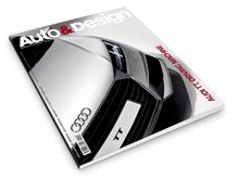 SPD students' work from the year 12-13 featured in Auto&Design magazine