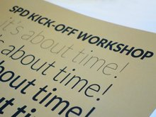 It's about time! The workshop of the Master's in Visual Design in collaboration with Fedrigoni Group