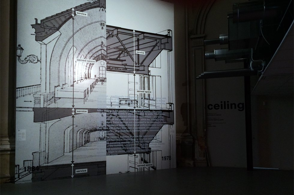 The students of Interior Design visit the 14th Biennale of Architecture