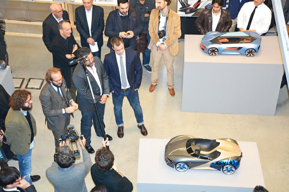 Great success for SPD car design show with Volkswagen