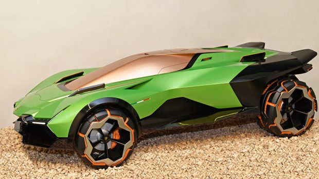 Lamborghini Master car design SPD